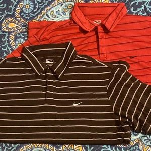 Lot of 2~ Nike Performance Short Sleeved 100%